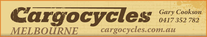 Cargo Cycles Melbourne Banner