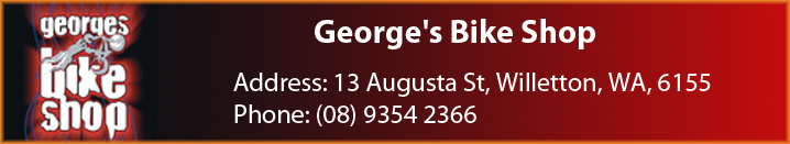 Georges Bike Shop Banner