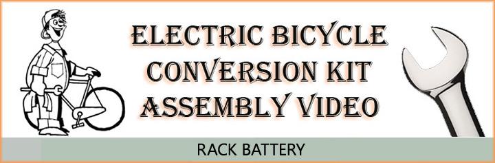 Kit assembly rack battery video