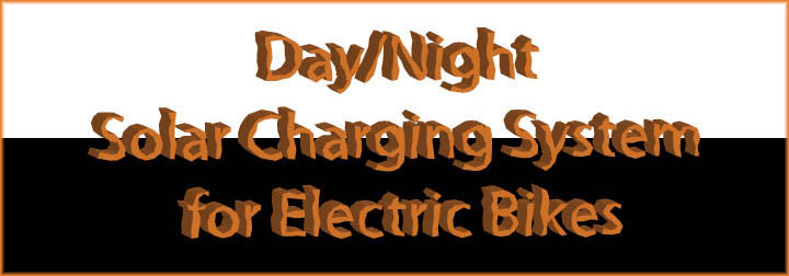 day night solar charging system