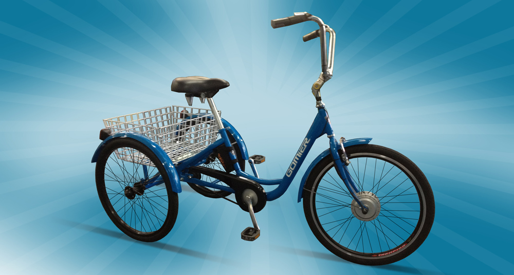 ELECTRIC GOMIER TRICYCLE $1950