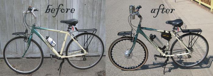 Alan Simons Electric Bicycle
