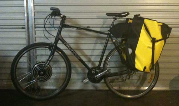 Peter Ks electric bike