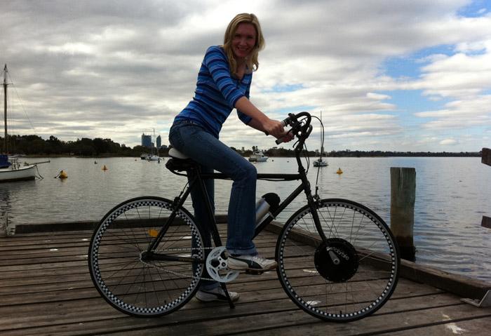 Ricardas electric bike