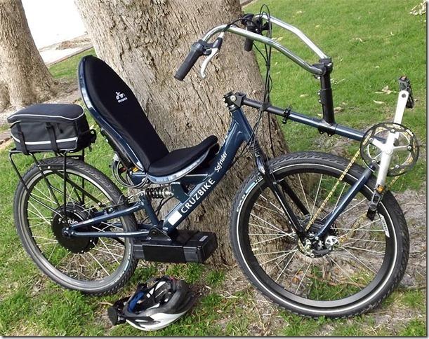 Ruperts Electric Recumbant Bicycle