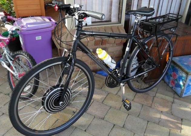 troys electric bike