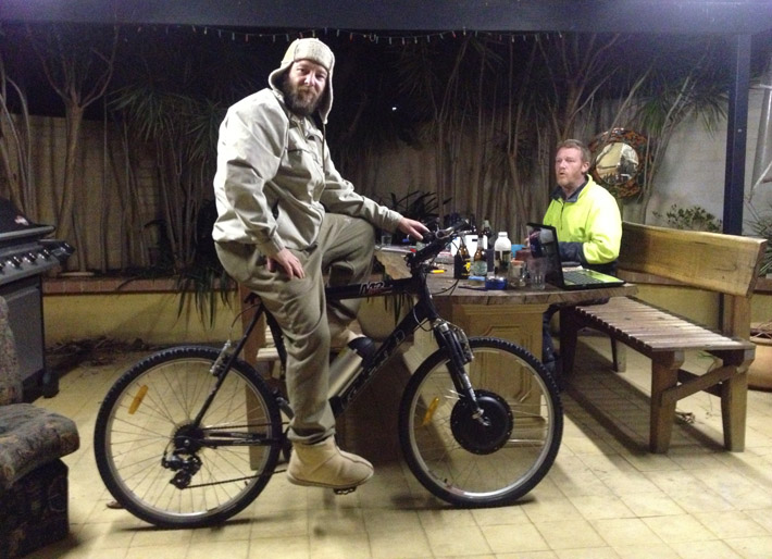 dave and lukes 500W electric bike