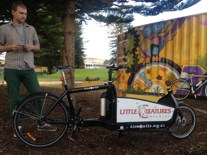 dismantle cargo bike