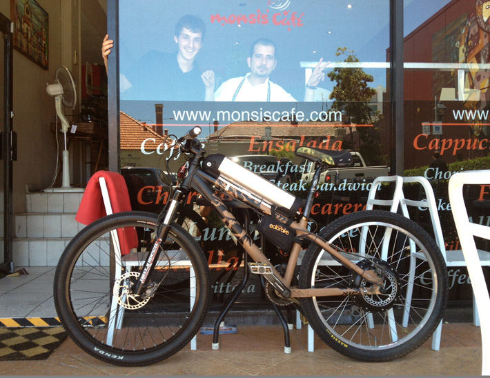 monsis cafe 1000W electric bike