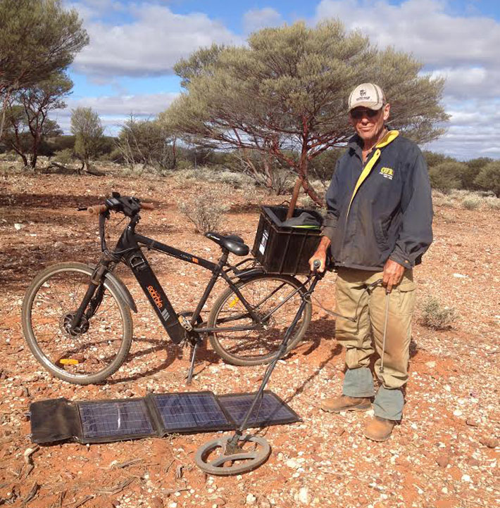 solar bike prospecting