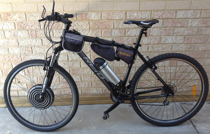 troy long life electric bike