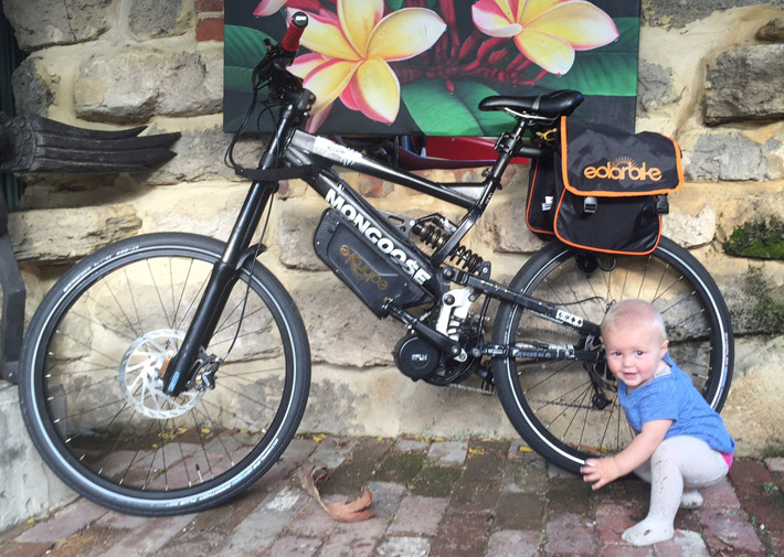 Baby and Beast downhill 1000W bafang electric bike