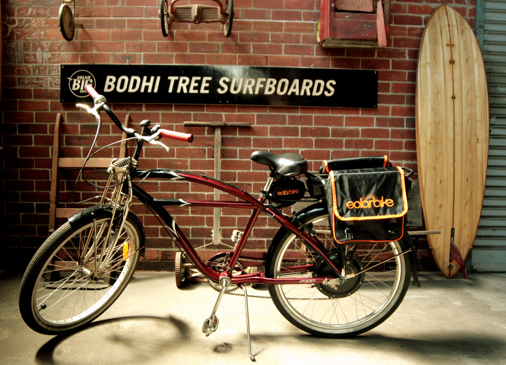 Bodhi Tree Surfboards Electric Bike