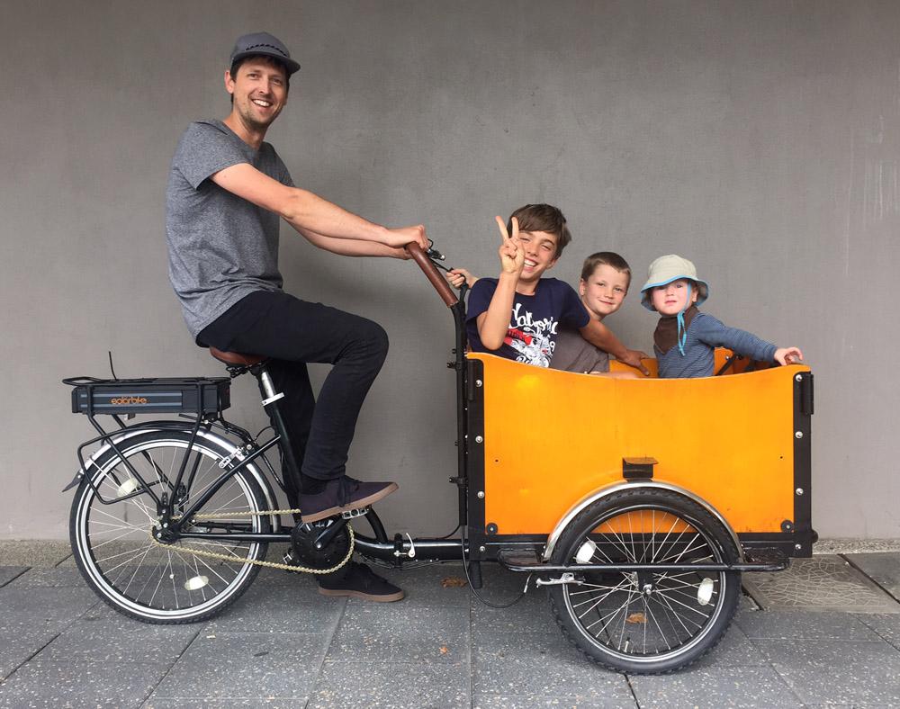 Electric Christiania Cargo Bike February 2017 Solar Bike