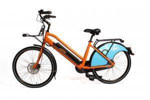 Orange rent ebike 1