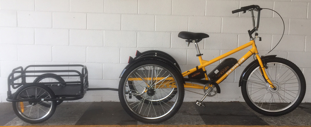 industrial electric gomier trike for Rottnest