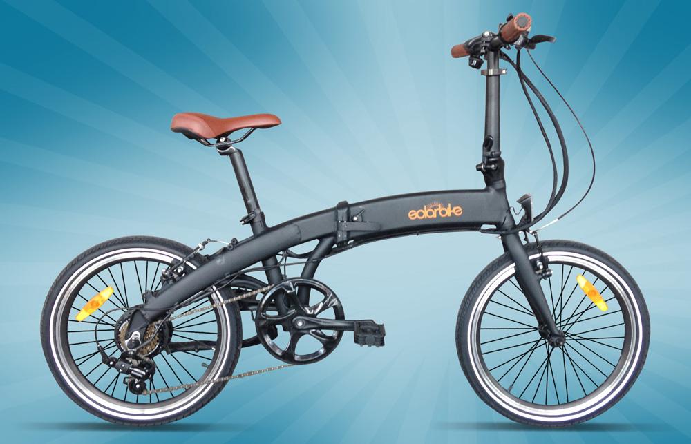 Folding Solar Bike