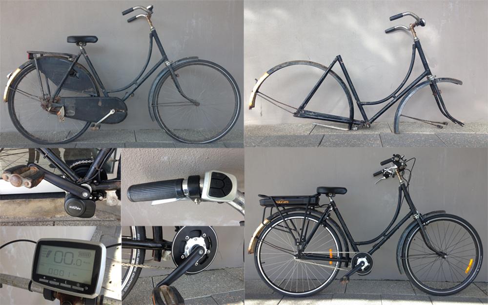 1950s electric Dutch bike