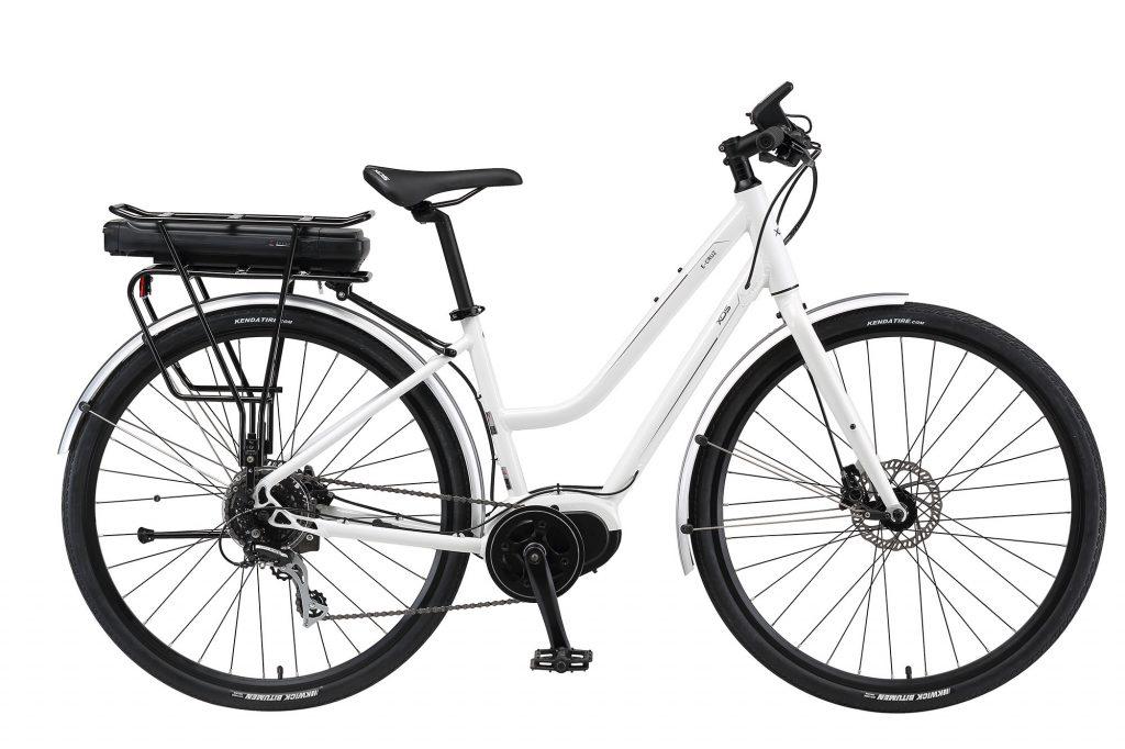 E-CRUZ step through electric bike from XDS