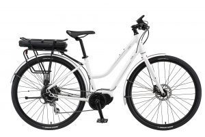 E-CRUZ step through electric bike from XDS