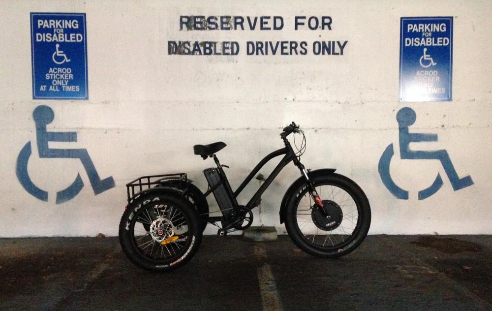 Electric Bikey Trike