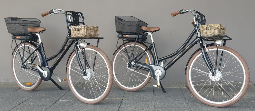 Double Dutch Electric Lekker Jordaan bicycle