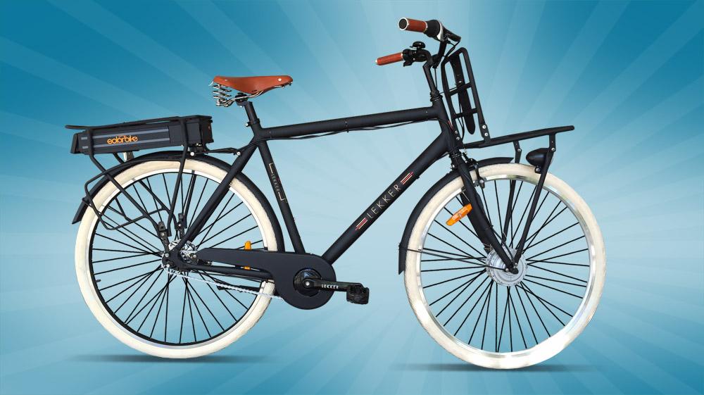 lekker jordaan mens electric bike